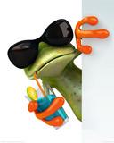 Frog Drink Prints