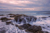 Blustery Seascape at Thor's Well, Oregon Coast Photographic Print by Vincent James