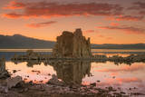 Moody Sunset at Mono Lake, Sierra Nevada Photographic Print by Vincent James