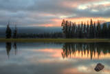 Ethereal Sparks Lake and Morning Light Photographic Print by Vincent James