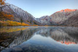Autumn Morning, First Light, Convict Lake, Sierra Nevada Photographic Print by Vincent James