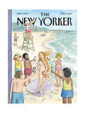 The New Yorker Cover - August 4, 2014 Regular Giclee Print by Roz Chast