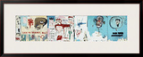 Life like Son of Barney Hill Framed Giclee Print by Jean-Michel Basquiat
