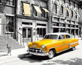 New York - Taxi Plakat
