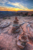Scene from a Sunset Hike, Southern Utah Stampa fotografica di Vincent James