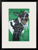 Self-portrait as a Heel Part Two Framed Giclee Print by Jean-Michel Basquiat