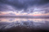 Morning Cloudscape at Cannon Beach, Oregon Coast Photographic Print by Vincent James