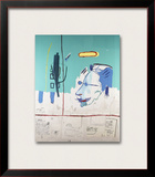 LF Framed Giclee Print by Jean-Michel Basquiat