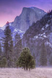 Before Dawn at Half Dome, Yosemite Valley Photographic Print by Vincent James