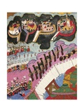 Ottoman Troops Attacking Four Hungarian Fortresses Giclee Print