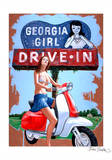 Georgia Girl - Drive in Posters by Jason Stillman