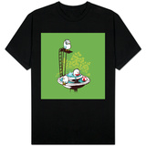 Bird's Fountain Pool Party T-shirts