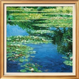 Water Lillies Print by Claude Monet