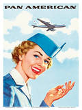 Pan Am American Stewardess Posters