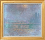 Charing Cross La Tamise Art by Claude Monet