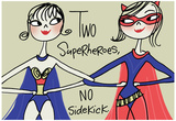 Superhero Friends Posters