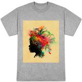 Flower Head T-shirts