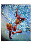 The Diver Prints by Jason Stillman