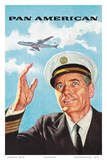 Pan Am American Captain Poster