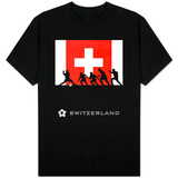 World Cup - Switzerland T-shirts