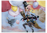 Balloons Print by Leslie Ditto