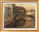 Le Pont A Gisors Art by Henri Le Sidaner