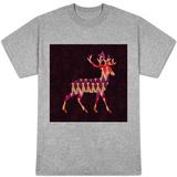 Ikat Reindeer T-Shirt