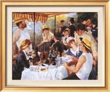 Luncheon At The Boating Party Posters by Pierre Auguste Renoir