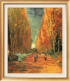 Allee des Alycamps Art by Vincent van Gogh