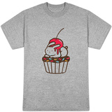 Chubby Bunny on Cupcake T-shirts