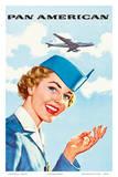 Pan Am American Stewardess - Reprodüksiyon
