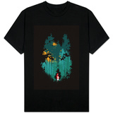 Wolf and Red Riding Hood T-shirts