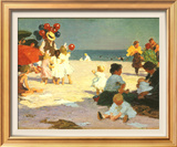 On the Beach (Potthast) Posters por Edward Henry Potthast