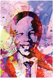 Nelson Mandela Watercolor Photographie