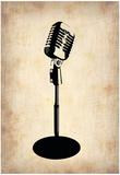 Vintage Microphone Billeder af NaxArt