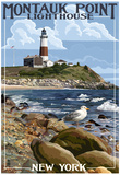 Montauk Point Lighthouse - New York Print