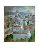 "Study for ""The City Paris"", 1909 Giclee Print by Robert Delaunay"