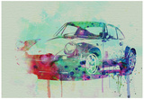 Porsche 911 Watercolor 2 Posters