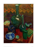 Blue Still Life, 1907/1908 Giclée-tryk af Robert Delaunay