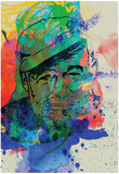 Hemingway Watercolor 2 Affiches