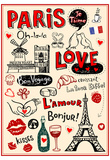 Paris - A City Of Love And Romanticism Affiche
