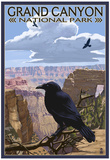 Grand Canyon National Park - Ravens and Angels Window Affiches