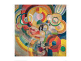 Manage de Cochon ou Manege Electrique Giclee Print by Robert Delaunay