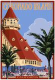 San Diego, California - Hotel Del Coronado Prints