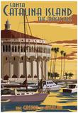 Catalina Island, California - Casino & Marina Posters