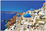 Amazing Santorini - Travel In Greek Islands Series Posters