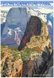 Zion National Park - Angels Landing Prints