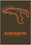 Belgian Grand Prix 1 Posters by  NaxArt