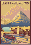 Many Glacier Hotel, Glacier National Park, Montana Prints