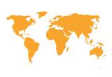 Orange World Print